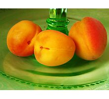 Still life with Apricots Photographic Print