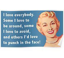 Love Everybody Poster