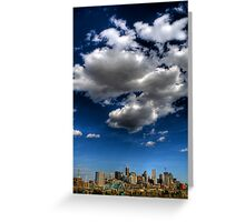 Denver Skyline 2 Greeting Card