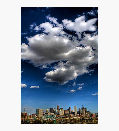 Denver Skyline 2 Photographic Print