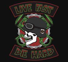 Live Fast Die Hard Baby Tee