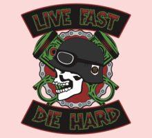 Live Fast Die Hard One Piece - Short Sleeve