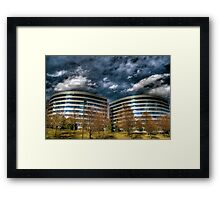 GreatWest Office 1 Framed Print