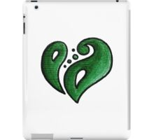 Strength / قوة (green) iPad Case/Skin