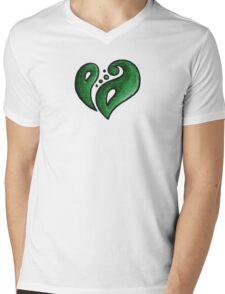 Strength / قوة (green) Mens V-Neck T-Shirt