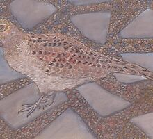 Mrs MP3 (Hen Pheasant) by MagsWilliamson