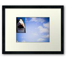 Shark! Framed Print