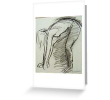 ACTION SKETCH Greeting Card