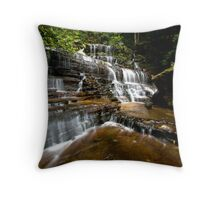 Brittania Falls - Blue Mountains NP, NSW Throw Pillow