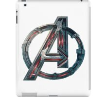 The Avengers-Age of Ultron Logo iPad Case/Skin