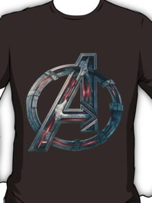 The Avengers-Age of Ultron Logo T-Shirt