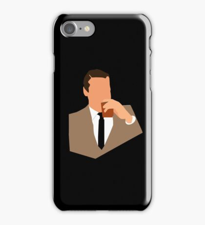 Don Draper Takes a Drink iPhone Case/Skin