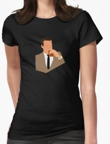Don Draper Takes a Drink Womens Fitted T-Shirt
