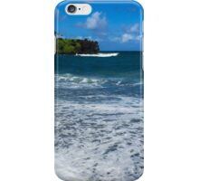 Maui Black Sand Beach iPhone Case/Skin