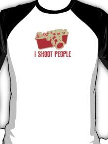 I Shoot People Camera T Shirt T-Shirt