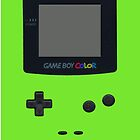 Green Gameboy Color by Grimsgraphics