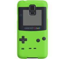 Green Gameboy Color Samsung Galaxy Case/Skin