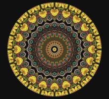 Flower Kaleidoscope III by Lyle Hatch