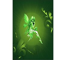 Fairy-Green Photographic Print