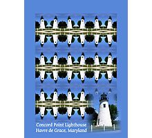 Poster_Concord Point Lighthouse Photographic Print