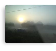 Junkyard Fog  Metal Print