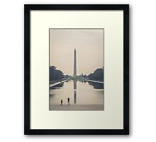 Washington Monument Framed Print