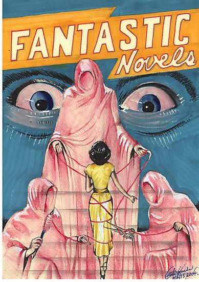 Fantastic Novels  by John Dicandia  ( JinnDoW )