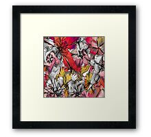 flowers from my mind Framed Print