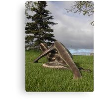 Sssssnake in the Grass set 2-5 Canvas Print