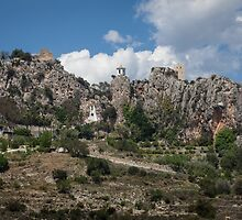 Guadalest village Spain by leightoncollins