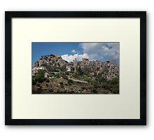 Guadalest village Spain Framed Print
