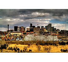 Denver Skyline 3 Photographic Print