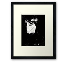 Rice Paper Framed Print