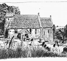 St Michael's Church, Duntisbourne Rouse, Gloucestershire by HeidiArts