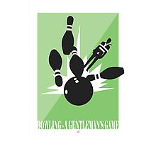 Bowling - A Gentleman's Game by Jeppe K Ringsted Photographic Print