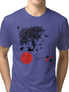 Bjork all is full of love Tri-blend T-Shirt