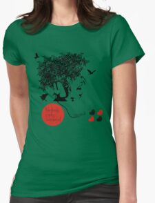 Bjork all is full of love Womens Fitted T-Shirt