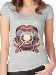 Retro 90s canti Women's Fitted Scoop T-Shirt