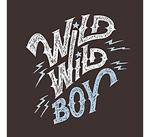 Wild Wild Boy Photographic Print