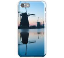 Iconic Windmills of Kinderdijk, The Netherlands iPhone Case/Skin