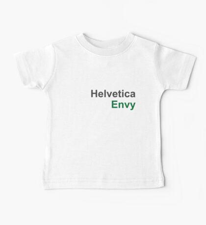 Helvetica Envy Baby Tee