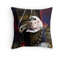 Pi-rat-e  Huxley Throw Pillow