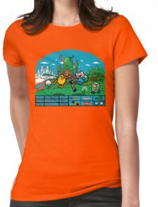 The Secret Of Ooo Island Womens Fitted T-Shirt