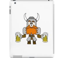 Funny Viking with Fly on Nose iPad Case/Skin
