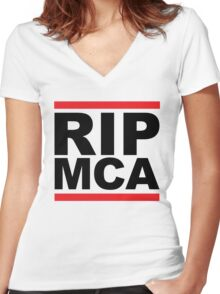 MCA Women's Fitted V-Neck T-Shirt