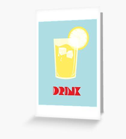 Summer -  Drink Greeting Card
