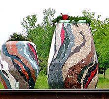 The Paul Bunyon Family Vases by Sunflwrconcepts