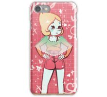 Retro 90s pearl iPhone Case/Skin