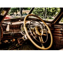 INSIDE '48 FLEETLINE Photographic Print