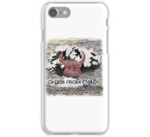 'Chaos Bringer' with background iPhone Case/Skin